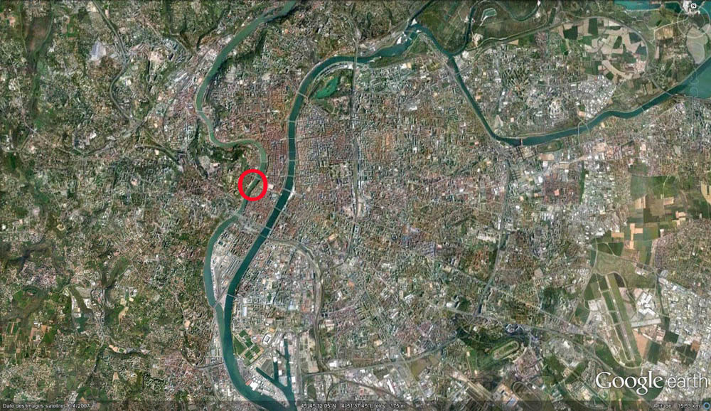 L'agglomération lyonnaise, Saône et Rhône