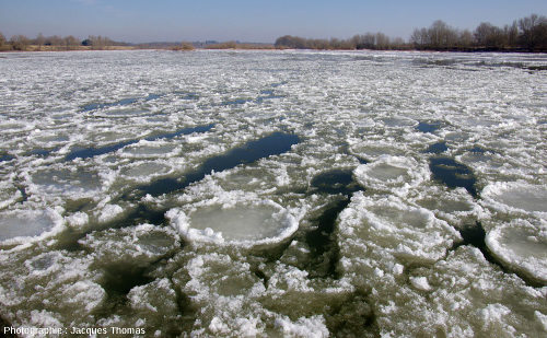Deux photos de la Loire, prises du même endroit (La Binette, commune de Bou, Loiret), à quelques minutes d'intervalle, vers midi le 12 février 2012 (photo 1)