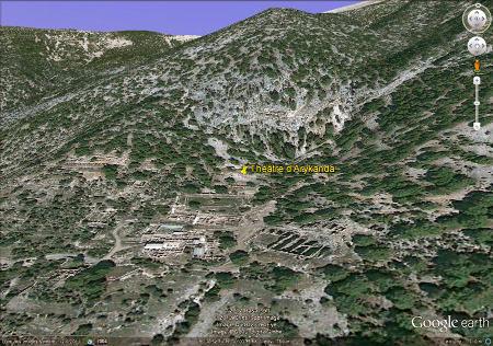 Vue des ruines de la cité antique d'Arycanda (Turquie)