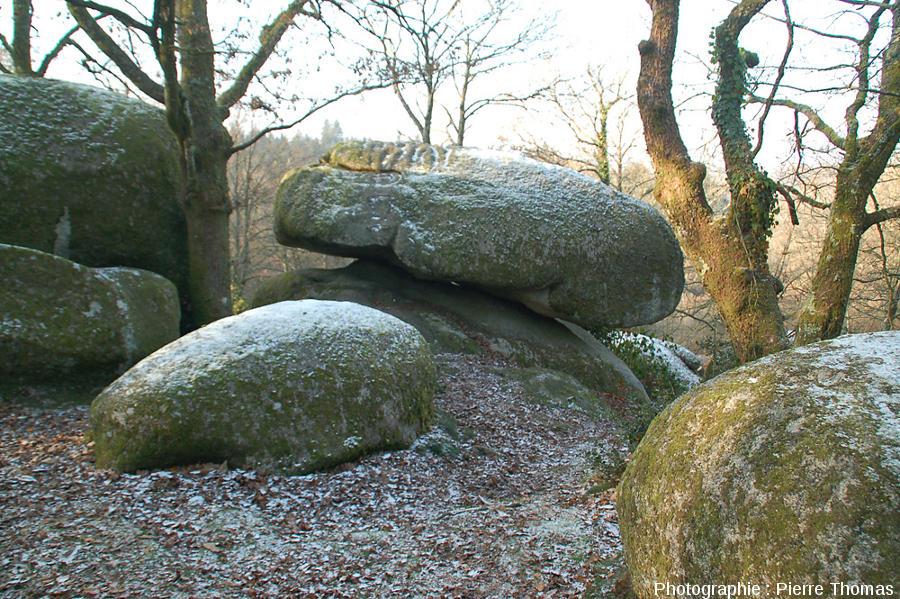 Chaos granitique des rochers de Puychaud, Monts de Blond, Haute Vienne