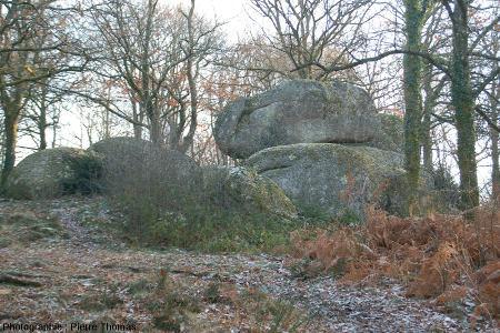 Chaos granitiques des rochers de Puychaud, Monts de Blond, Haute Vienne