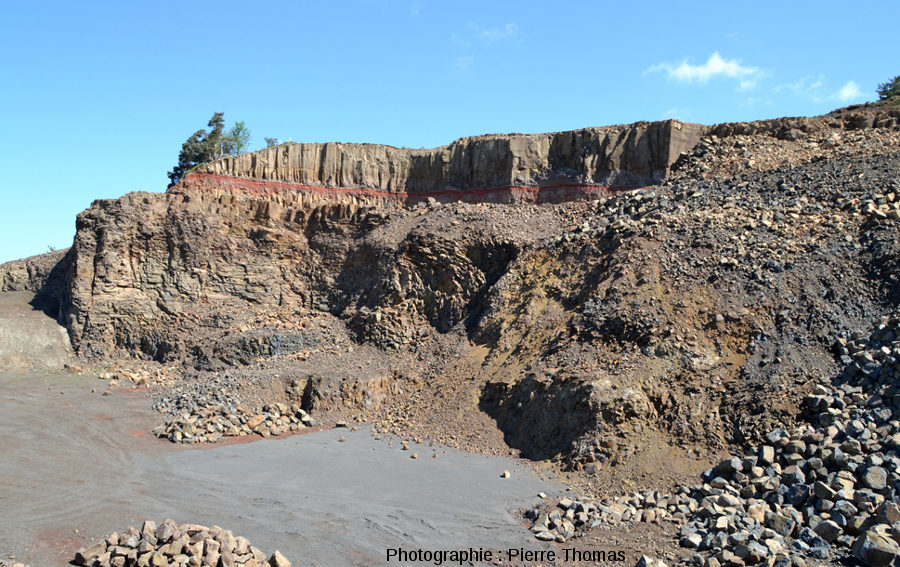 La carrière de Bournac (commune de Saint Front, Haute Loire), ses deux coulées de basalte et son paléosol thermo-métamorphisé