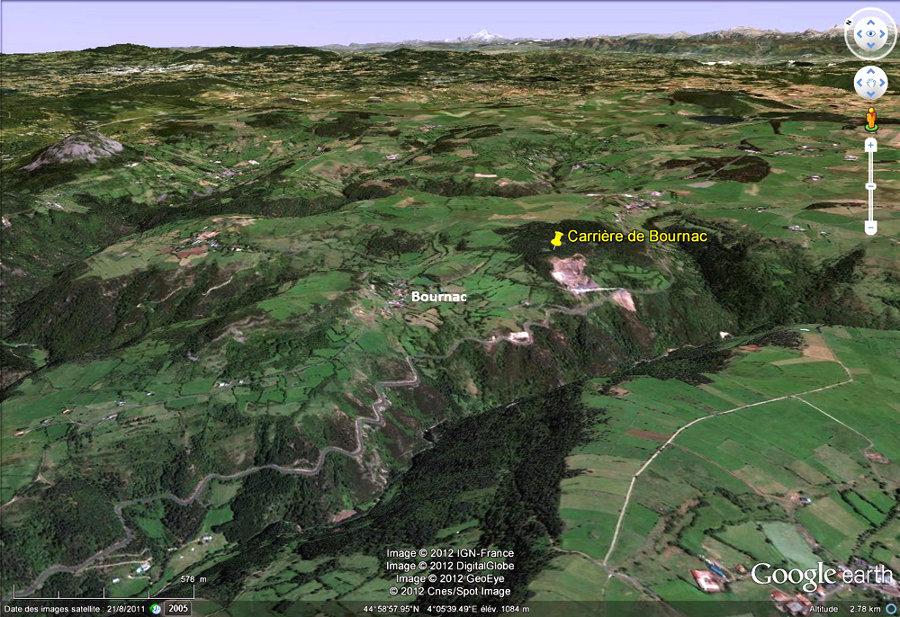 Le site de la carrière de Bournac (Haute Loire)
