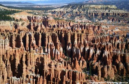Vue sur Bryce Canyon, Utah, USA