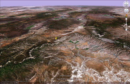 Site morpho-structural de Bryce Canyon