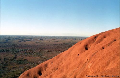 En montant sur Uluru
