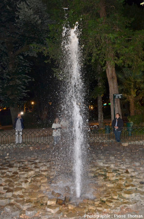 La Source intermittente de Vals-les-Bains (Ardèche)