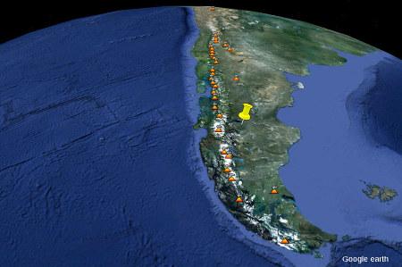 La Patagonie et le volcanisme actif au Sud de l'Amérique du Sud