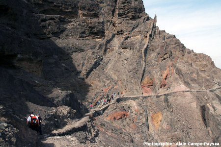 Cadre géologique des dykes de Sao Vincente, Cap Vert