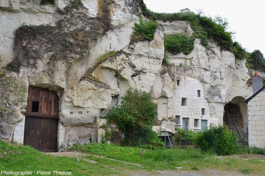 Cavités souterraines du Val de Loire actuellement utilisées