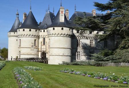 Le château de Chaumont, Loir et Cher, exemple de château de la Loire bâti en tuffeau