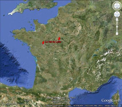Le Val de Loire, en France