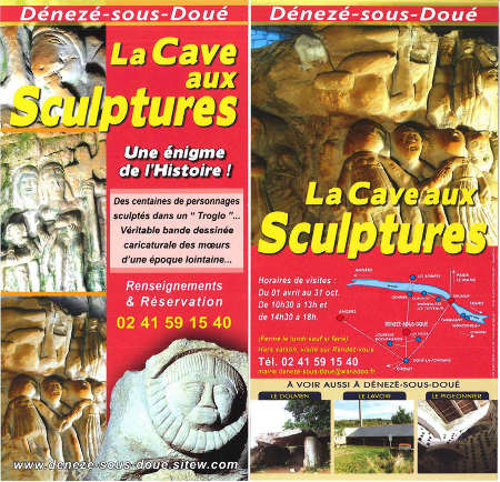 Prospectus officiel de la « Cave aux Sculptures »
