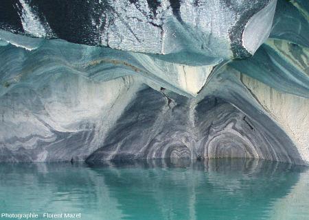 Figures liées à l'intersection de différentes surfaces géologiques