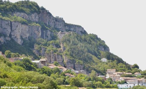 Le site géologique de Roquefort sur Soulzon, Aveyron