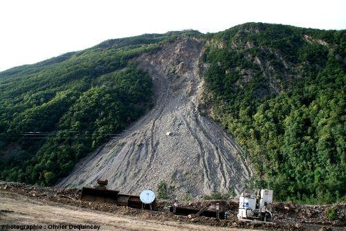 Les Ruines de Séchilienne, vallée de la Romanche (Isère)