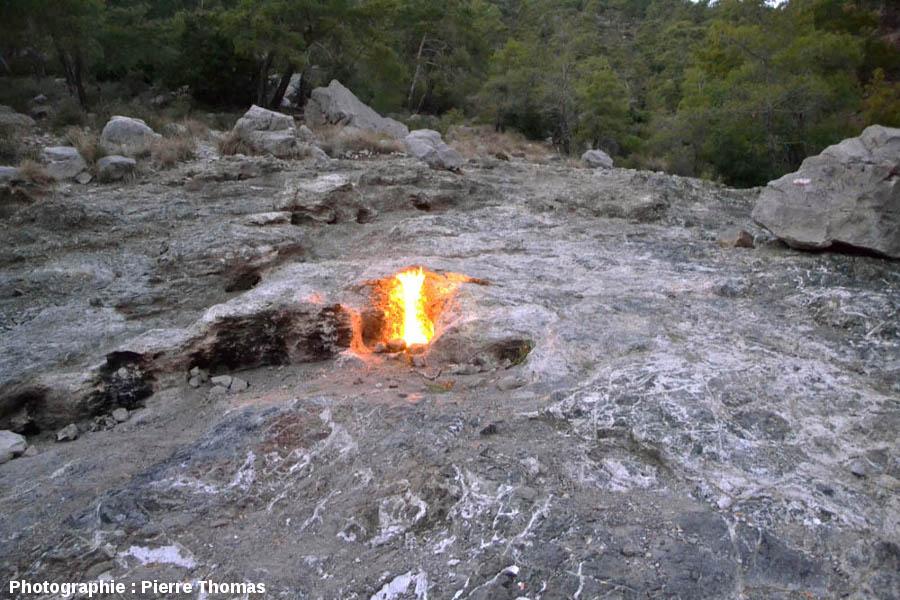 M U00e9thane Abiotique Enflamm U00e9 Et Serpentinite Du Site De La