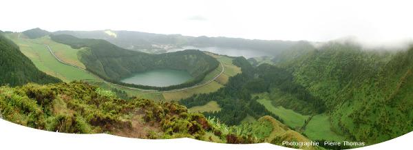 La caldeira des Sept Cités, Açores (Portugal)