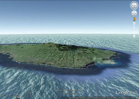L'extrémité occidentale du strato-volcan des Sept Cités et de sa caldeira sommitale, Açores (Portugal)