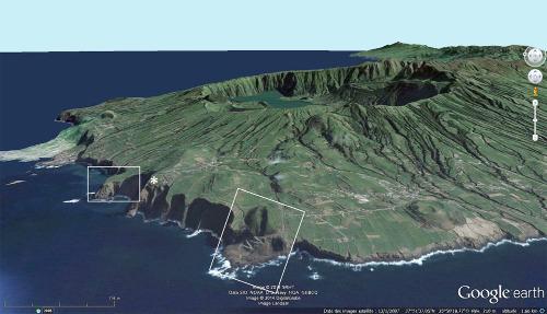 L'extrême Ouest de l'île de Sao Miguel, Açores, Portugal