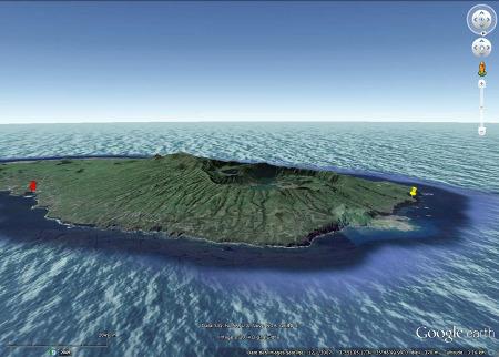 L'Ouest de l'île de Sao Miguel, Açores (Portugal)