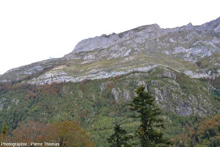 L'extrémité occidentale (Nord-Ouest) de la discordance Crétacé / Hercynien du Pic de Ger