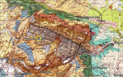Géologie du massif paléozoïque du Boulonnais (feuilles de Marquise et de Guines)