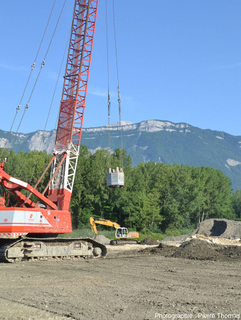 """Une masse plus lourde (19 tonnes) et plus """"étroite"""" (1,5m de """"diamètre"""")"""