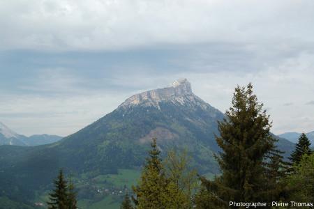 Le synclinal perché du Chamechaude, vu depuis le Mont Saint Eynard