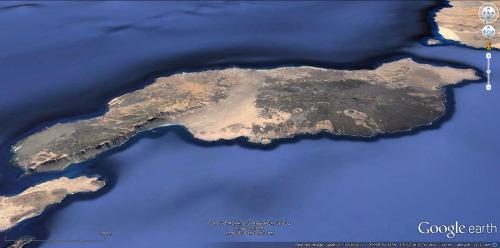 La totalité de l'île de Lanzarote (Canaries, Espagne)