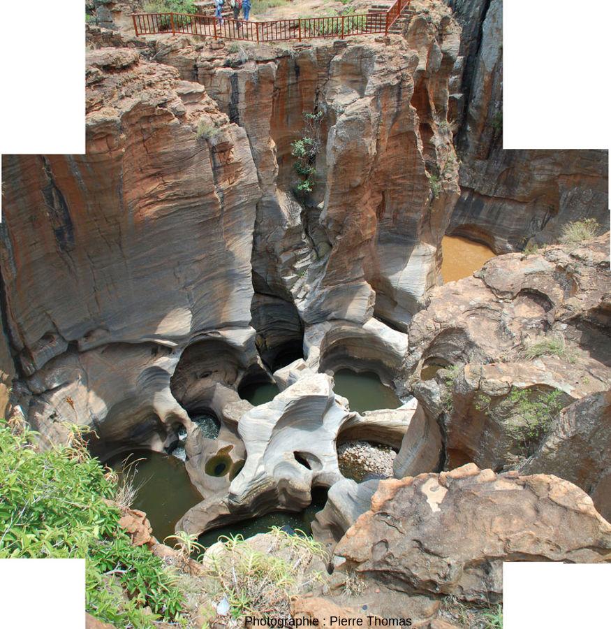 Confluent de la Treur et de la Blyde et ses marmites de géant
