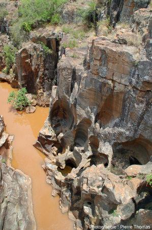 Le cours de la Blyde, 100m en amont de son confluent avec la Treur