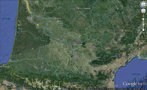 Localisation de Sainte Croix du Mont (Gironde)