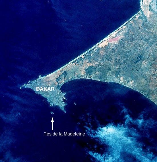 La presqu'île du Cap-vert, extrémité occidentale du Sénégal et du continent africain