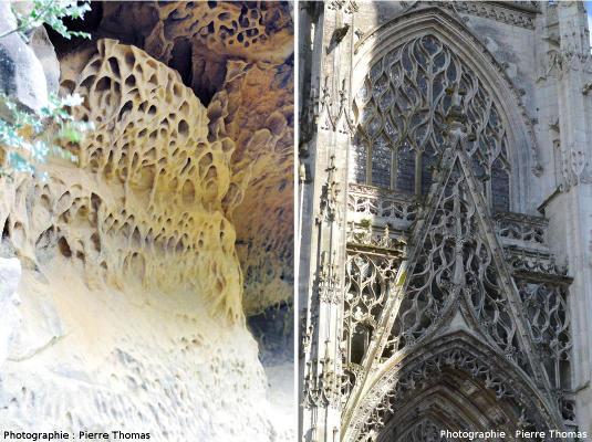 Taffonis et sculptures gothiques