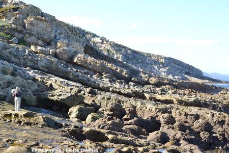 Un secteur de la côte du Jaizkibel particulièrement riche en paramoudras