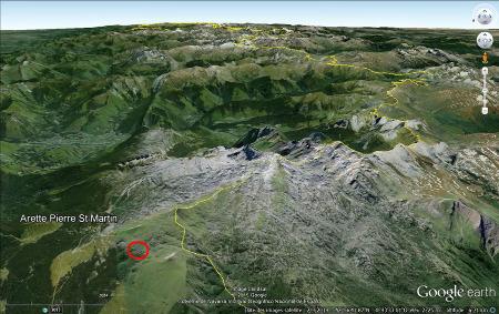 Vue aérienne globale du gigantesque lapiaz de la Pierre Saint Martin (Pyrénées Atlantiques)