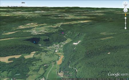 La reculée des Planches-près-Arbois (Jura)