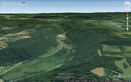 Morphologie de la vallée du Hérisson (Jura)