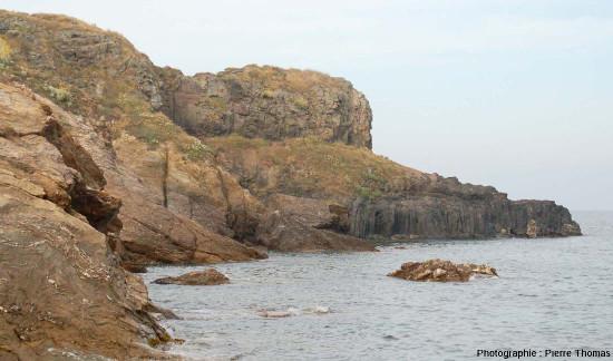 Zoom arrière du côté Nord de la Pointe Nègre, Six-Fours-les-Plages (agglomération de Toulon, Var)