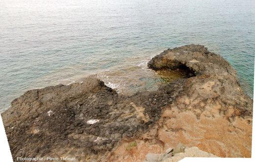 Extrémité Ouest de la Pointe Nègre, Six-Fours-les-Plages (agglomération de Toulon, Var)