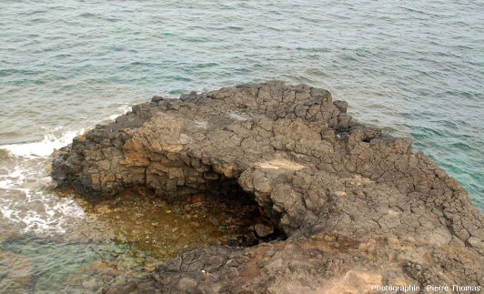 Zoom sur l'extrémité Ouest de la Pointe Nègre, Six-Fours-les-Plages (agglomération de Toulon, Var)