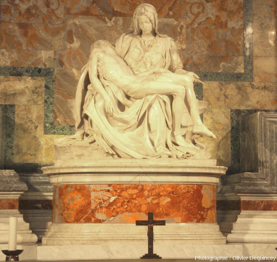 Pietà de Michel-Ange, basilique Saint Pierre de Rome