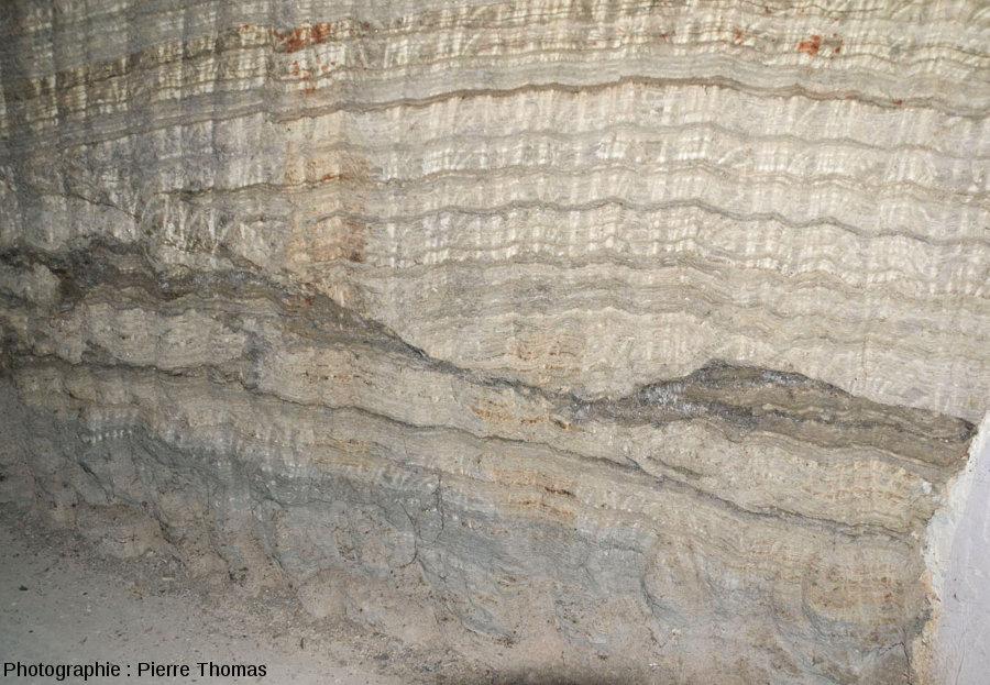 Figures d'érosions dans les gypses de Portel-des Corbières (Aude)