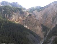 Le système torrentiel de Bragousse-Boscodon, commune de Crots, Hautes Alpes