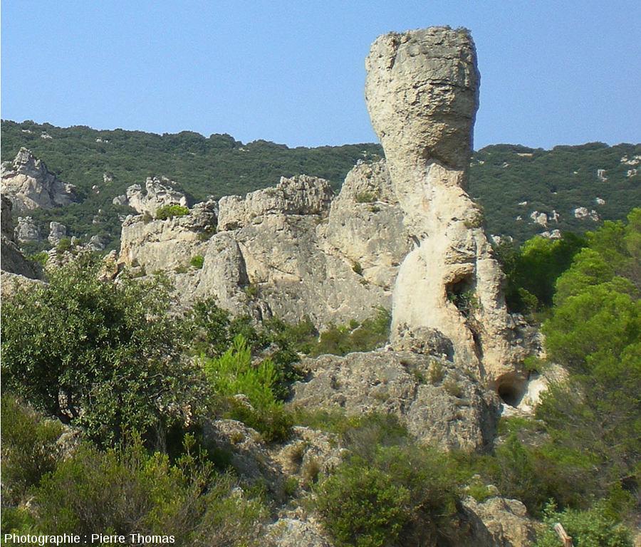 Le Sphinx, célèbre pinacle de Mourèze