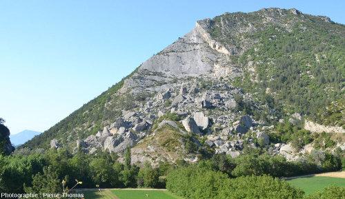 Vue d'ensemble du Claps, Luc en Diois, Drôme