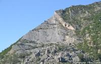 Le Claps (Luc en Diois, Drôme), un colossal éboulement datant de 1442