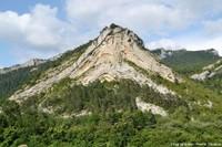 Les plis disharmoniques de Saint-Julien-en-Beauchêne, Hautes Alpes