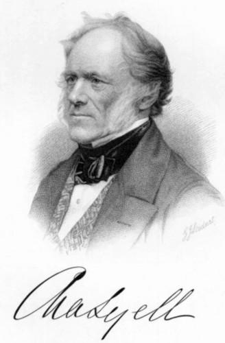 Portrait de Charles Lyell (1797-1875)